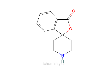 CAS:37663-46-0_螺[异苯并呋喃-1(3H),4'-哌啶]-3-酮的分子结构