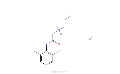 CAS:3785-21-5_盐酸布坦卡因的分子结构