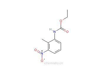CAS:381670-28-6_N-乙氧羰基-3-硝基邻甲苯胺的分子结构