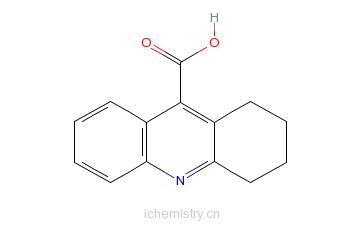 CAS:38186-54-8_1,2,3,4-四氢丫啶-9-羧酸的分子结构