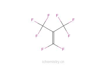 CAS:382-21-8_全氟异丁烯的分子结构