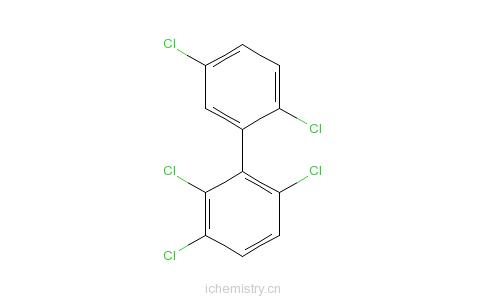 CAS:38379-99-6_2,2',3,5',6-戊氯联苯的分子结构