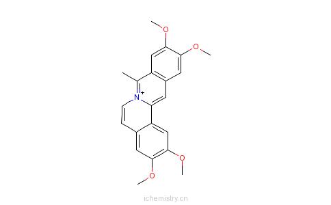 CAS:38989-38-7_柯楠因水合物的分子结构
