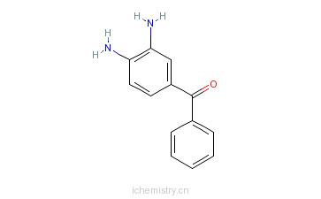 CAS:39070-63-8_3,4-二氨基二苯甲酮的分子结构