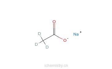 CAS:39230-37-0_乙酸钠盐-d3的分子结构