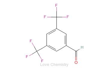 CAS:401-95-6_3,5-双三氟甲基苯甲醛的分子结构