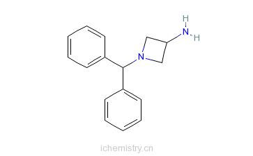 CAS:40432-52-8_3-氨基-1-二苯甲基氮杂环丁烷的分子结构