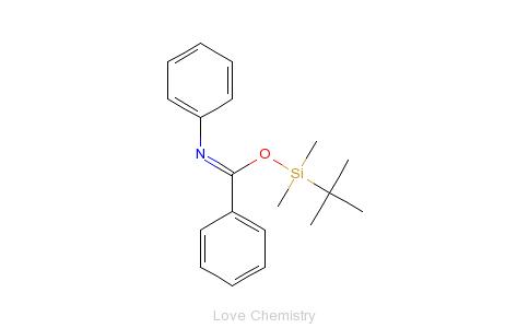 CAS:404392-70-7_叔丁基二甲基硅 N-苯甲酰胺的分子结构