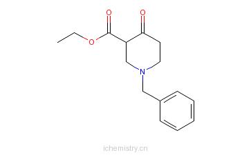 CAS:41276-30-6_1-苄基-4-哌啶酮-3-羧酸乙酯的分子结构