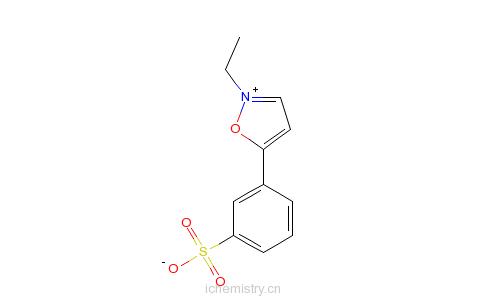 CAS:4156-16-5_2-乙基-5-苯基异恶唑-3'-磺酸盐的分子结构