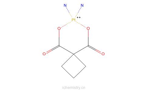 CAS:41575-94-4_卡铂的分子结构