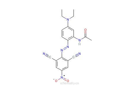 CAS:41642-51-7_分散兰165的分子结构