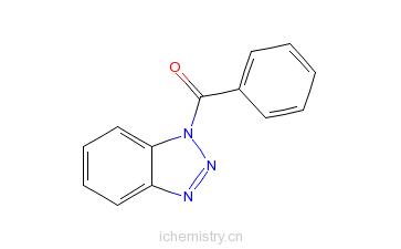 CAS:4231-62-3_1-苯甲酰-1H-苯并三唑的分子结构