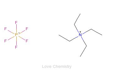 CAS:429-07-2_四乙基六氟磷酸铵的分子结构