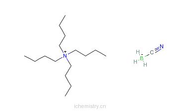 CAS:43064-96-6_四丁基氰基硼烷化铵的分子结构