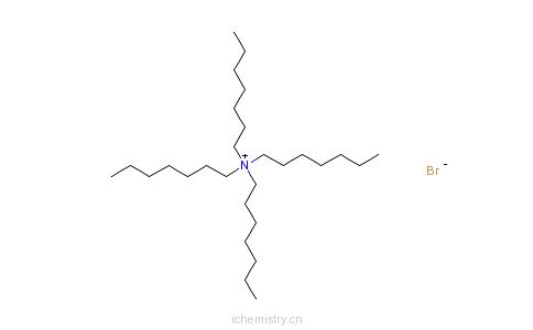 CAS:4368-51-8_四庚基溴化铵的分子结构