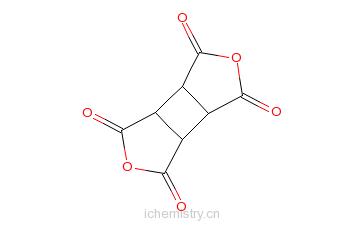 CAS:4415-87-6_环丁烷四甲酸二酐的分子结构