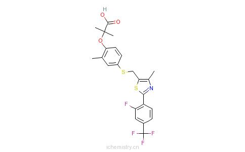 CAS:447406-78-2_索格列扎的分子结构
