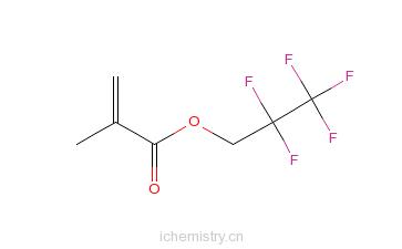 CAS:45115-53-5_1H,1H-全氟丙基甲基丙烯酸酯的分子结构