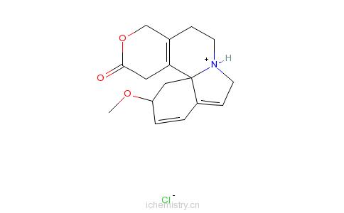 CAS:466-81-9_Β-刺桐定碱的分子结构