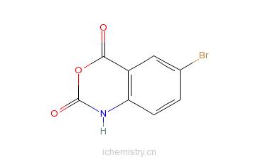 CAS:4692-98-2_5-溴靛红酸酐的分子结构