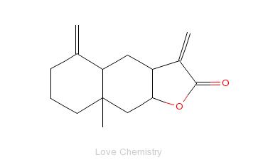 CAS:470-17-7_异土木香内酯的分子结构