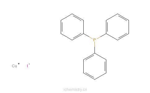CAS:47107-74-4_三苯膦碘化铜的分子结构