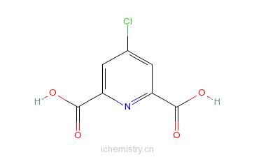 CAS:4722-94-5_4-氯吡啶-2,6-二羧酸的分子结构