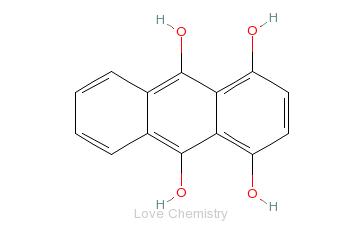 CAS:476-60-8_醌茜隐色体的分子结构