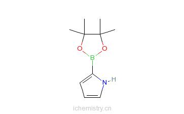 CAS:476004-79-2_吡咯-2-硼酸频哪醇酯的分子结构