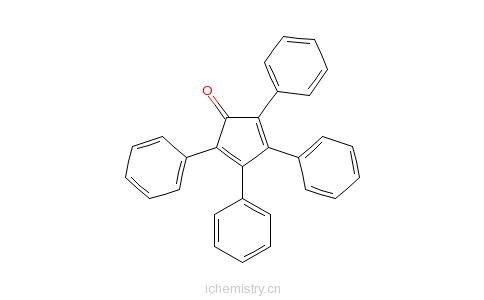 CAS:479-33-4_四苯基环戊二烯酮的分子结构