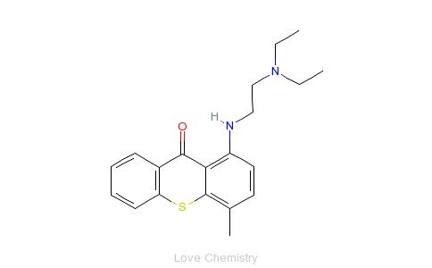 CAS:479-50-5_硫坎酮的分子结构