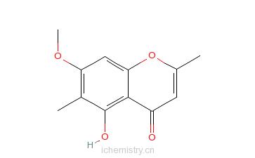 CAS:480-12-6_甲基丁香色原酮的分子结构