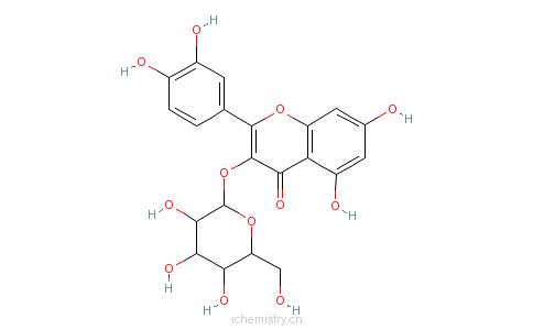 CAS:482-35-9_异懈皮苷的分子结构