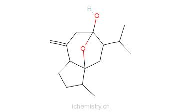 CAS:4871-97-0_莪术醇的分子结构