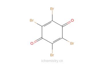 CAS:488-48-2_四溴对苯醌的分子结构