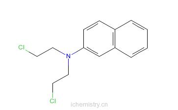 CAS:494-03-1_萘氮芥的分子结构
