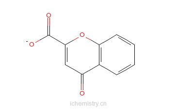 CAS:4940-39-0_4-苯并吡喃酮-2-羧酸的分子结构