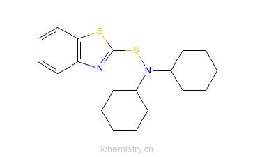 CAS:4979-32-2_N,N-二环己基-2-苯并噻唑次磺酰胺的分子结构