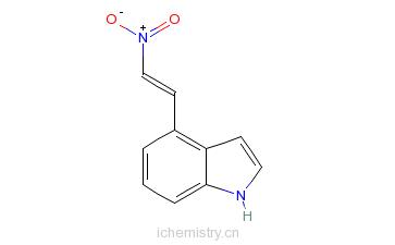 CAS:49839-99-8_4-(2-硝基乙烯基)吲哚的分子结构