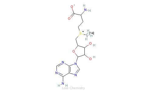 CAS:4989-98-4的分子结构