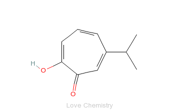 CAS:499-44-5_桧木醇的分子结构