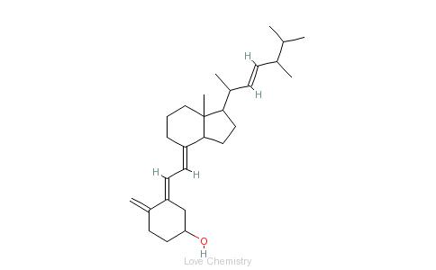 CAS:50-14-6_alpha-骨化醇的分子结构