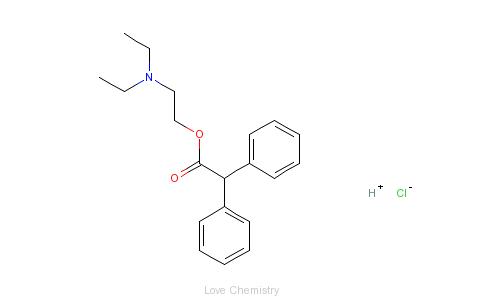 CAS:50-42-0_盐酸阿地芬宁的分子结构