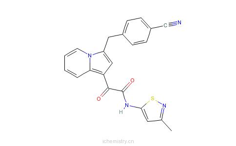 CAS:501948-05-6_罗沙布林的分子结构