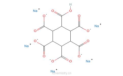 CAS:50329-18-5_1,2,3,4,5,6-环己烷六羧酸钠盐的分子结构