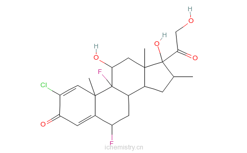 CAS:50629-82-8_卤甲松的分子结构