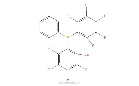 CAS:5074-71-5_双(五氟苯基)苯膦的分子结构