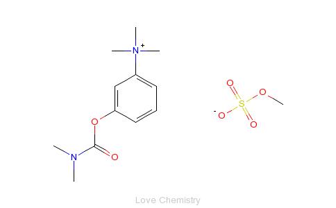 CAS:51-60-5_甲磺酸新斯的明的分子结构