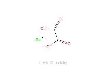 CAS:516-02-9_草酸钡的分子结构